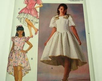Butterick Easy Girl's Dress Pattern 5191 Size 12 - 14,