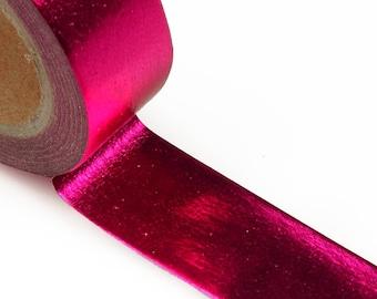 Metallic Fuchsia Washi Tape