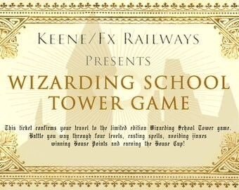 Wizarding School Tower Game - Limited Edition - PRE-ORDER