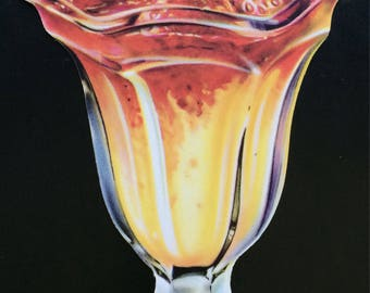 Strawberry Sundae Die Cut 1950's Soda Shoppe Diner