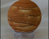 Arizona Sierra Sandstone Sphere 74mm Gemstone Sphere Trendy Office Décor Gifts for Home Rustic Decor Man Cave Decor Boho Home Decor