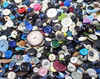 150 Scrapbooking Buttons, Craft Buttons, Cardmaking Buttons, Sewing Buttons, Button Grab Bag, Button Mix