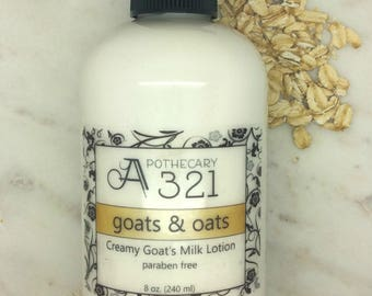 Goats & Oats Oatmeal Scented Goat Milk Lotion