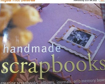 CLEARANCE Handmade Scrapbooks Creating Scrapbooks Journals Memory Boxes Country Living