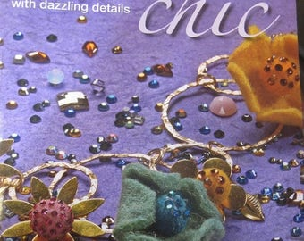 CLEARANCE Crystal Chic, Custom Jewelry Book with Dazzling Details by Debbi Simon