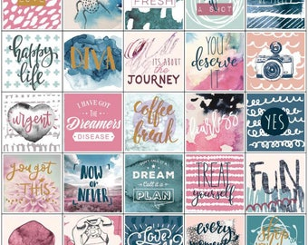 My Prima Planner, Inspirational Stickers, Diary, Journal, craft, scrapbook, card making 157/Pieces