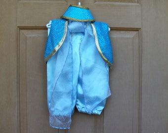 Shimmer and Shine Genie size 2, Aladdin costume, pants, vest, sash and ponu tail cap