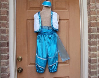 Shine Costume, Aqua Genie costume, Genies in Training, only one like this, girls size 4