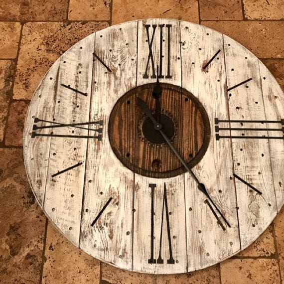 Stencil Or Decal For Farmhouse Clock 1 Set Of Roman