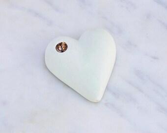 Mint Julep Heart Pipe