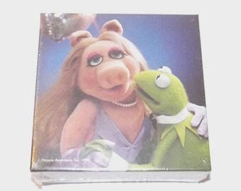 1980s Muppets Puzzle / 80s children's jigsaw puzzle/ Miss Piggy and Kermit Puzzle