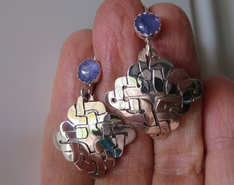 Tanzanite with Celtic Knot Drops
