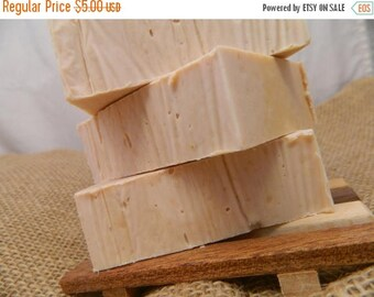 SALE Plumeria Goats Milk Soap