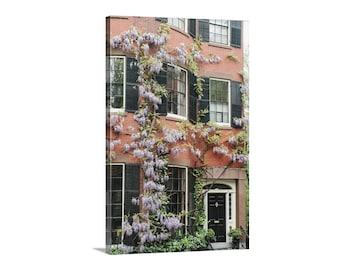 Boston Photo, Beacon Hill, Massachusetts, Art Photography, Vertical Wall Art, Architecture Art, New England, Canvas Print, Fine Art Print