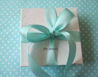 "5 Yards Satin Ribbon, Aqua Blue Ribbon, Robins Egg Blue, Ribbon for Favor Boxes, Christmas Gift Wrap, Gift Wrapping, 5/8"" Double Face"