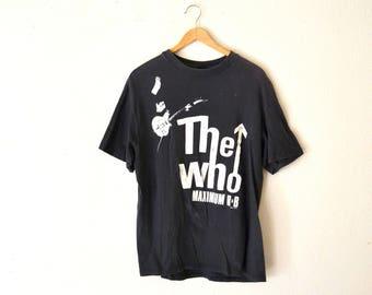 1989' The Who, Maximum R&B Tour T-Shirt