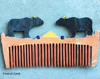 Fair Trade Hand Made Cow/Buffalo Indonesian Hair Comb