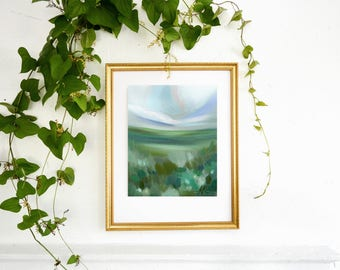 Warming Fields, 5x7, 8x10, 11x14 canvas print