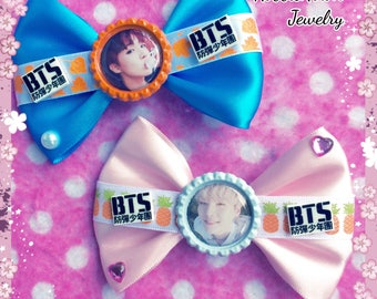 BTS Young Forever JHope & Suga Sexy KPOP Hair Bows