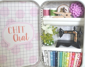 Tiny Tin Sewing Room ~ Chit Chat