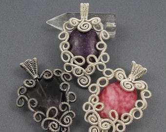 Sale, 15% Off - Lace Pendant - Wire Jewelry Making Tutorial