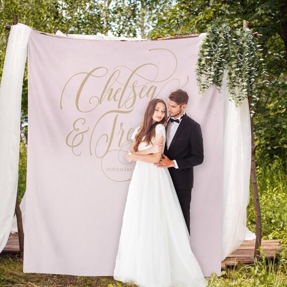 Pinterest wedding backdrop blush and gold banner wedding like this item junglespirit Gallery