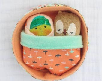 Little Witch Baby Playset with Owl