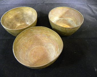 African Finger Bowls 1930's from French Camaroon