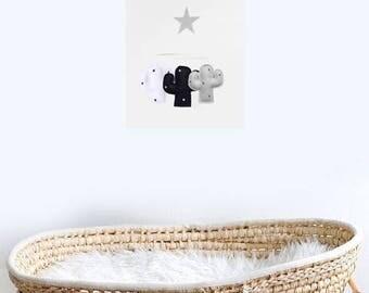 Gender Neutral 'Desert Cactus mobile' Nursery Mobile, Cactus Mobile, Boho Baby Nursery Mobile