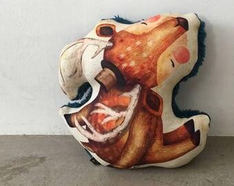 Wanderlust Deer Cushion/Pillow