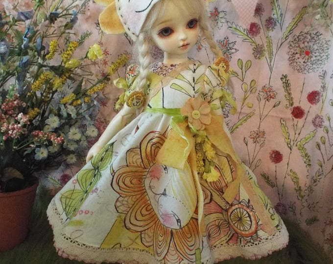 Zoo Babies Lion for 1/4 BJD Dolls Volks MSD Kaye Wiggs Rosenlied Holiday Myou Big Baby