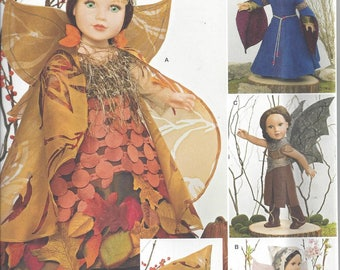 Simplicity 1134 - 18 Inch Doll Costume Pattern