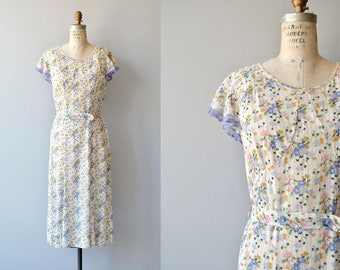Meadowsweet dress | vintage 1930s dress | floral 30s dress