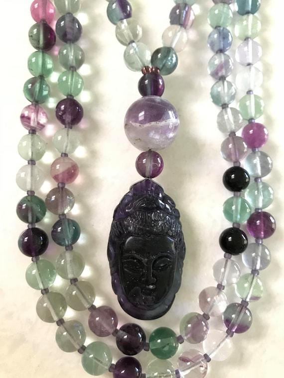 Fluorite Mala/prayer Beads