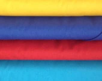Homegrown USA Solids Collection 100% Cotton, Grown, Spun, Woven & Dyed in the USA American Made