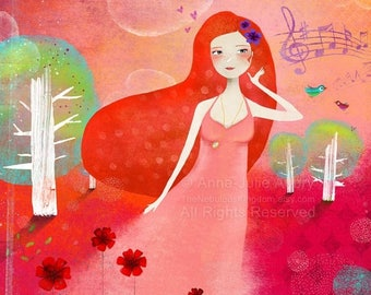 10% Off - Summer SALE Sweet Melody - Deluxe Edition Print