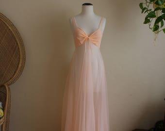 Beautiful vintage sheer gown