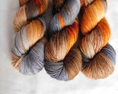 Aspen- Hand dyed Sock Yarn