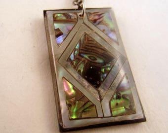 Paua Pendant necklace jewlery Abalony