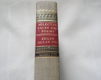 Selected Tales And Poems Edgar Allan Poe 1971