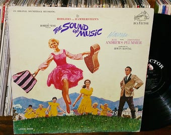The Sound Of Music Vintage Vinyl Motion Picture Soundtrack Record
