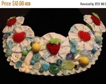 super sale handmade bib necklace
