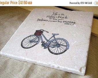 XMASINJULYSale Bike Kitchen Trivet - Bike Home Decor - Housewarming Gift