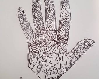 The Artist Hand by Jessika Gallop