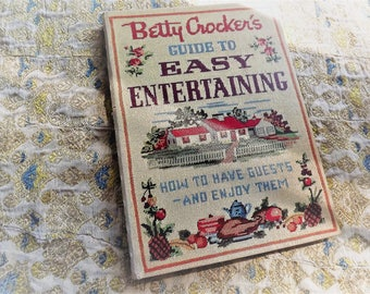 Betty Crocker's Guide To Easy Entertaining  first edition 1959 illustrated by Peter Spier Golden Press