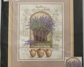 """Dimensions Counted Cross Stitch Kit French Lavender by Kathryn White No. 35071 - 11"""" x 14"""""""