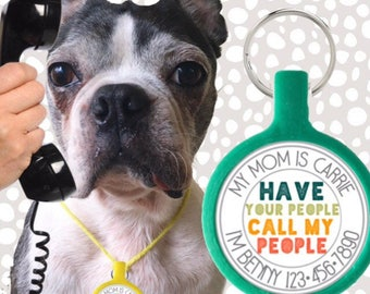 Have Your People- Eco-Friendly & Silent Pet ID Tag
