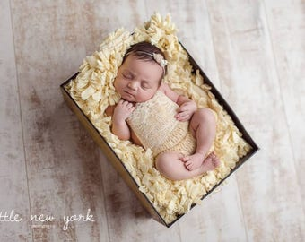 Lace Bib Romper Mohair Photography Prop HandKnit Newborn Photo Baby Shower Gift Knitted Shorts Girl Going Home Outfit Boy Dungarees Bodysuit