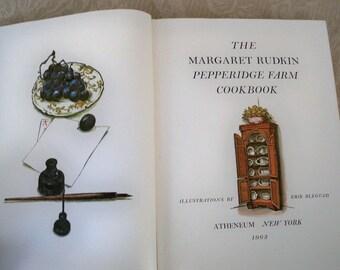 "Vintage Book Cookbook ""The Pepperidge Farm Cookbook"" 1963 First Edition Margaret Rudkin"
