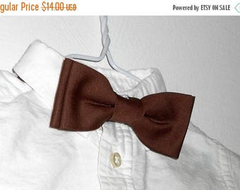 SALE Brown Bowtie - Infant, Toddler, Boys             2 weeks before shipping